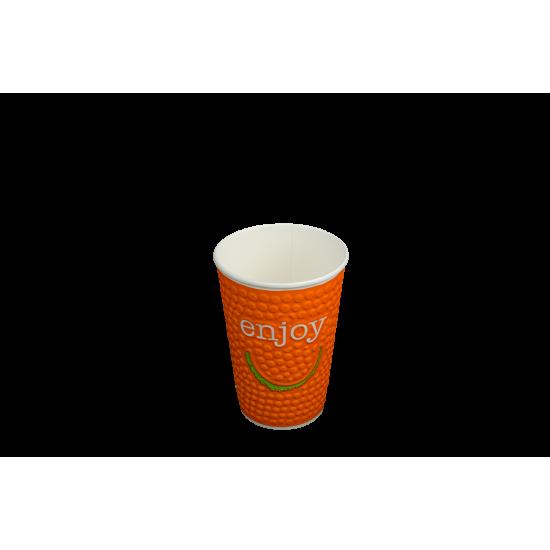 kubek papierowy Enjoy Huhtamaki  2 warstwowy 250 ml NDW9
